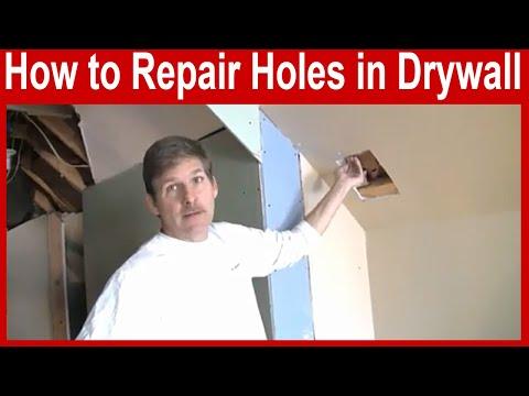 How to Repair Drywall - Medium Holes