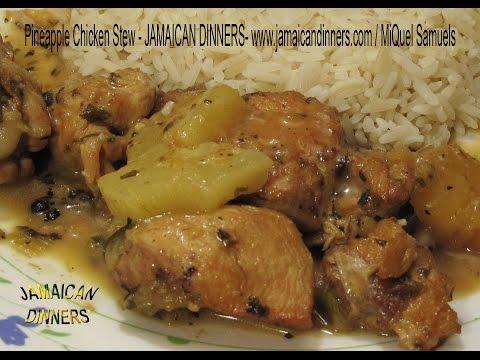 PINEAPPLE CHICKEN STEW Recipe