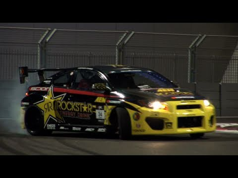 Sayonara Tanner Foust Formula Drift Abu Dhabi 2011