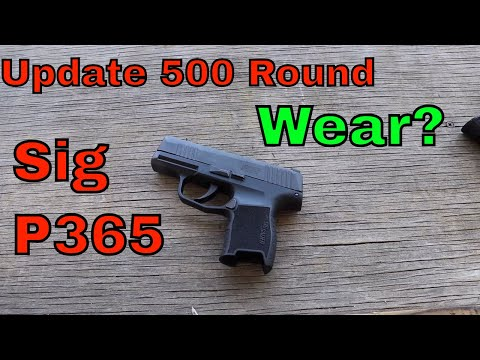 Sig P365 Gen 2: 250-500 rounds- Is it accurate?