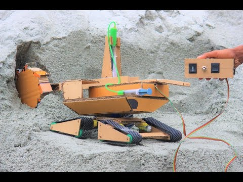 How to make a bucket wheel excavator - excavator