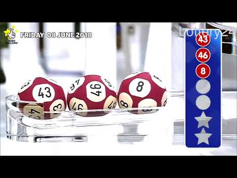 2018 06 08 Euro Millions Number and draw results