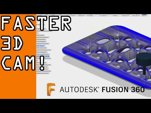 Fusion 360: Reducing Cycle Time on 3D Toolpaths!  FF61