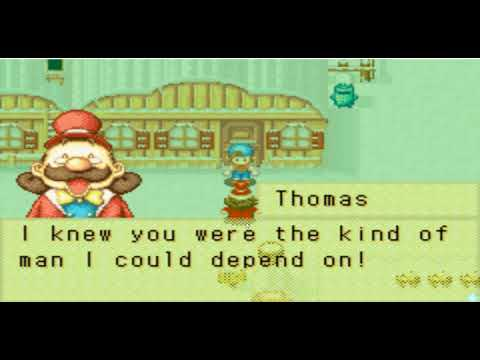 Harvest Moon Friends of Mineral Town (FoMT) Golden Lumber