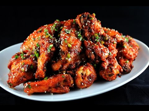 Sweet Spicy Garlic & Ginger Chicken Wings | CarnalDish
