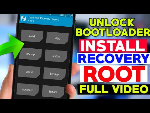 How To install RECOVERY + Unlock BOOTLOADER + ROOT Of Any Mi Android Phones FULL VIDEO