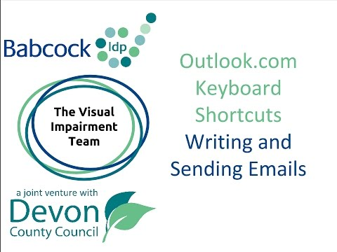Outlook.com- 8 Keyboard Shortcuts For Writing & Sending Emails