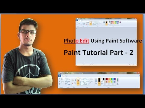 How to Use Paint software ? paint tutorial PART -2. Computer knowledge , Online DCA..technology .