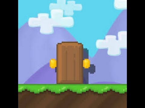 How to make a House Entrance door in Growtopia