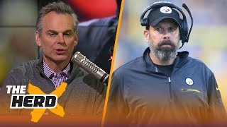 Colin Cowherd reacts to the Pittsburgh Steelers firing Todd Haley | THE HERD