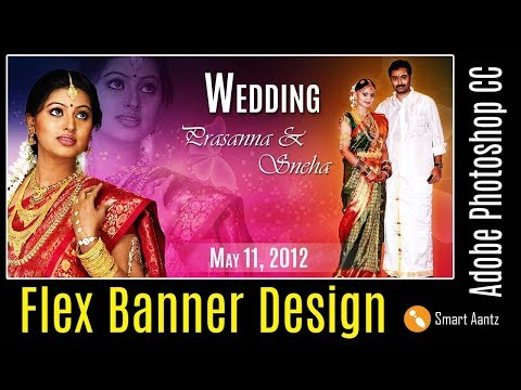 Flex Banner Design in Photoshop