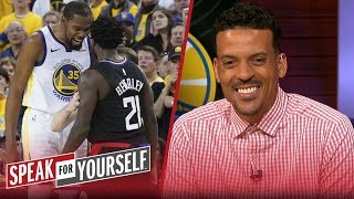 Kevin Durant's Game 1 Altercation Isn't A Problem For Matt Barnes | Nba | Speak For Yourself