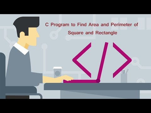 C Program to Find Area and Perimeter of Square and Rectangle | By Parth Joshi