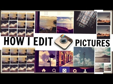 How to edit INSTAGRAM PICTURES like a PRO! 2015 EDITION♥