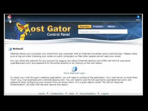 How To Set Up An Email With Your Own Domain Name (Hostgator) (QS 4)