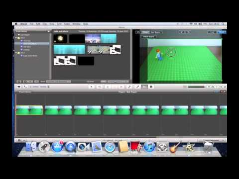 How to make a lego animation in iMovie