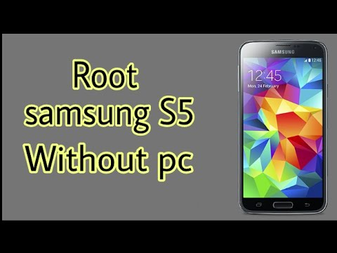 How to root samsung s5 without pc