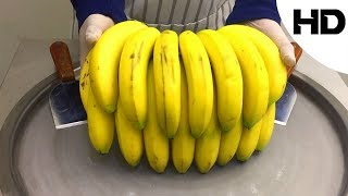 ايس كريم على الصاج بالموز (مع تقيمي للطعم)- banana