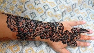 Simple Easy Mehndi Designs Full Hand Bridal Hennamehndi Designs