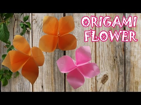 Origami Easy -  Origami Flower (Very Easy)