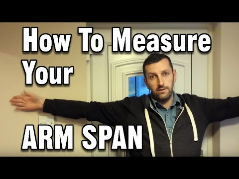 How to Measure your Arm Span