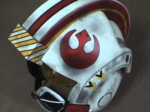 Building a Star Wars X-Wing Pilot Helmet Part 2