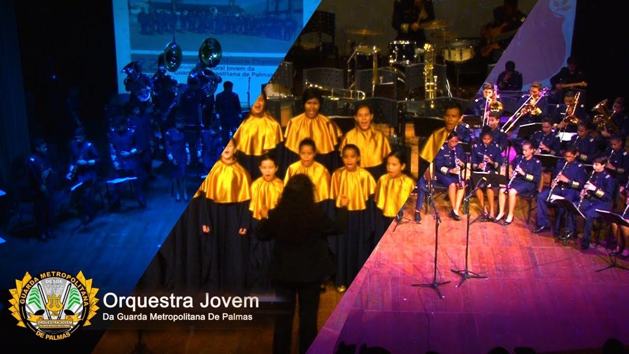 Concerto de Música Popular - Orquestra Jovem Da GMP