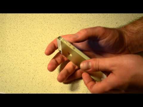 Обзор и распаковка золотого iPhone 5s 32Gb LTE за 22000 рублей; Ebay; Почта России.