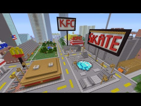Minecraft Xbox - City Outskirts - Novakov City - Part 3