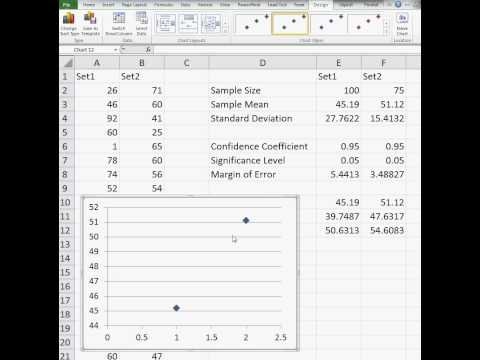 How To Compute Confidence Intervals In Microsoft Excel
