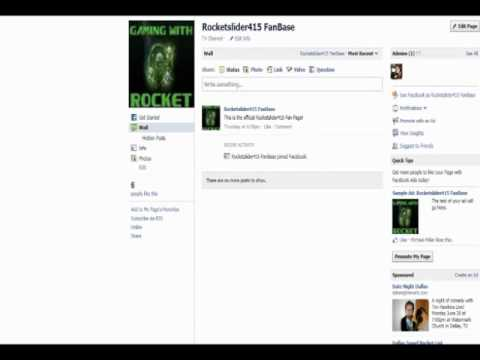 The Rocketslider415 FB Fan Page! + NVIDIA Graphics Card Disappointment :(