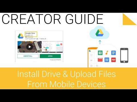 Google Drive Series - 1.3 - Add File to Drive with Mobile Share Button