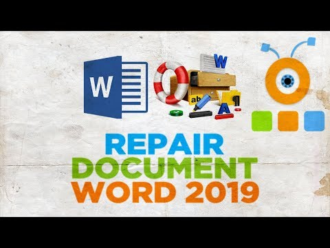 How to Repair a Word 2019 Document