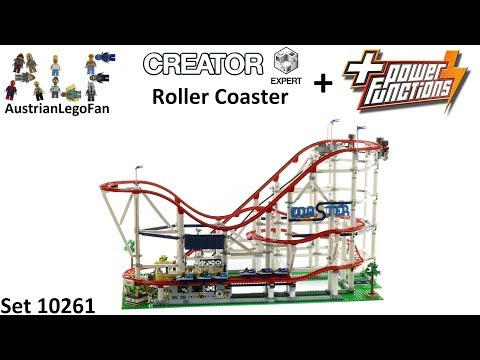 Lego Creator 10261 Motorizing Roller Coaster with Power Functions - Lego Speed Build Review
