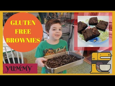 Namaste Foods Gluten Free Brownies ~ Baking with Ricky