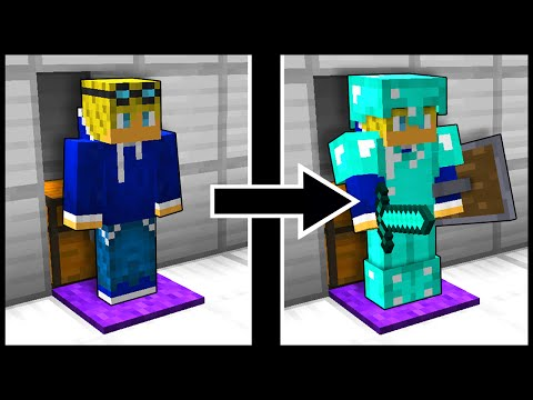 Automatic Compact Armor Equipper! - Minecraft Tutorial