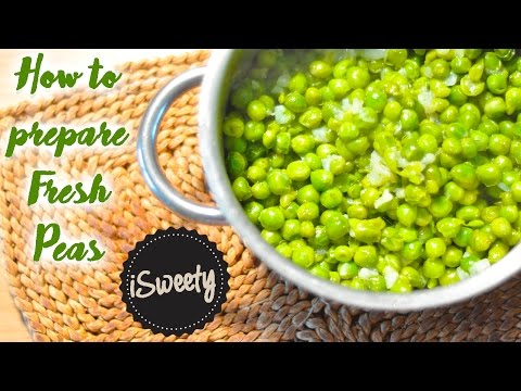 How to Prepare Fresh Green Peas [Quick and Easy Recipe]