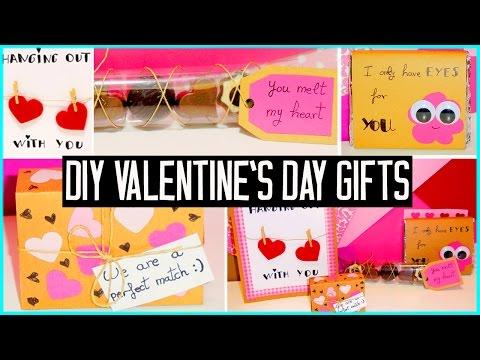 DIY Valentine's day little gift ideas! For boyfriend, girlfriend, family...Cute/cheap!