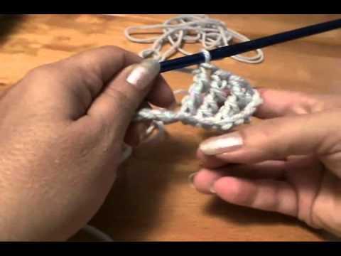 How to Double Treble Crochet Stitch