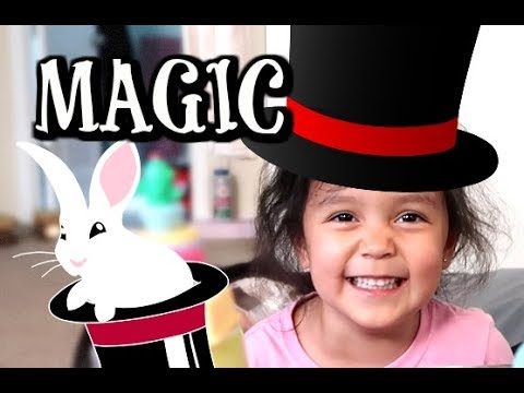 THE TRICKIEST MAGIC TRICK! -  ItsJudysLife Vlogs