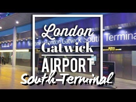 LONDON GATWICK AIRPORT SOUTH TERMINAL  l  VLOG#43