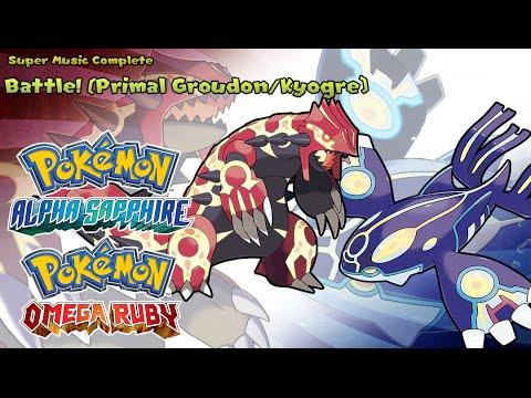 Pokémon Omega Ruby/Alpha Sapphire - Vs Primal Groudon/Kyogre (Highest Quality)