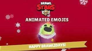 Brawl Stars: Animated Emoji Brawlidays!