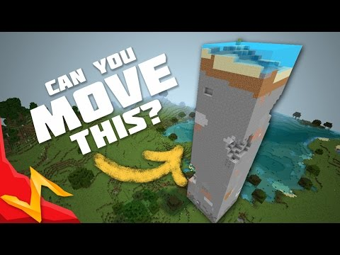 Biggest Movable Object in Minecraft?