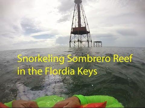 Florida Keys Boat Trip 2016 Part 7 Snorkeling in Marathon