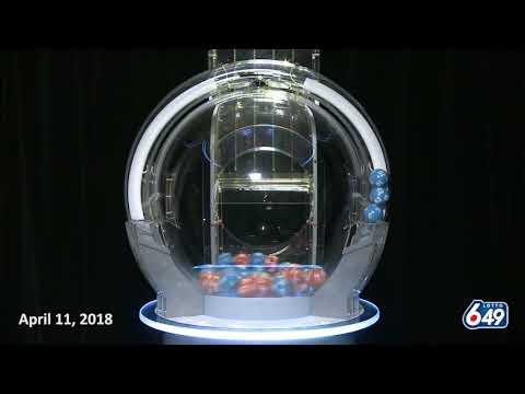 Lotto 6/49 Draw April 11, 2018