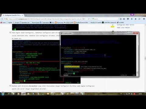Configure OpenSSL for HTTPS Apache Web Server using Linux CentOS 6 x