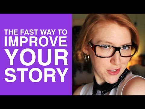 The Fastest Way to Improve Your Story (CHARACTER WANTS)