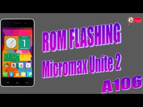 Micromax Unite 2 Rom Flashing Full Guide (Link Updated)