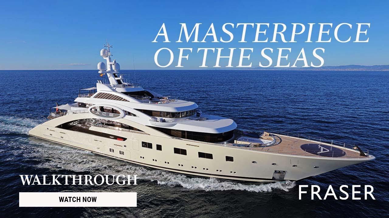 ACE   85M/279' Lurssen Yacht for sale - Superyacht walkthrough